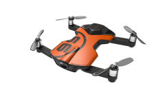 WINGSLAND S6 Foldable Pocket FPV 4K Camera Drone with LED Display Prop Guard