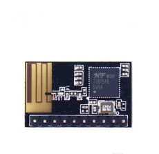 WIFI module Low power consumption Small Size Wireless Module Internal PCB Antennna 180 Straight HF-LPT120-10
