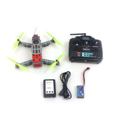 KINGKONG FPV 260 Frame Small Quadcopter with Motor ESC Flight Control Opensource 6Ch TX & RX Battery RTF Drone