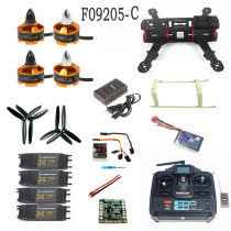 Unassembled Kit QAV250 Mini 250 Carbon Fiber 4-Axis Aircraft Frame with Radiolink T6EHP-E TX&RX Battery Charger