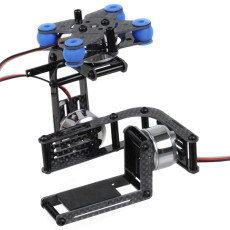 Carbon 3-Axis Brushless Gimbal Camera Mount W/ 3 Motors Controller for Gopro 2 3 DJI Multicopter FPV
