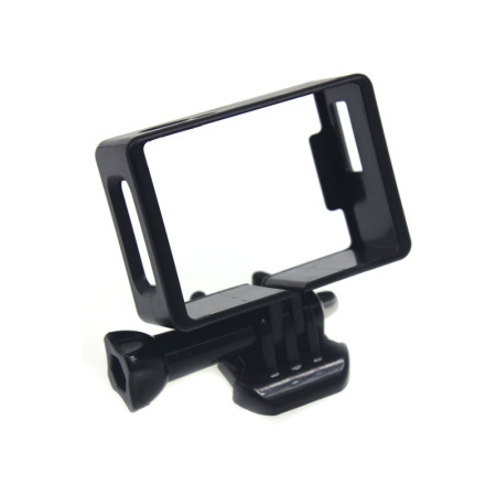 Camera Standard Border Frame Mount Protective Housing Case with Quick-Release Buckle + Long Screw for SJ4000Wifi SJ6000
