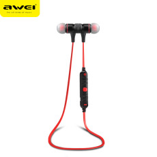 Awei A920BL Wireless Bluetooth 4.0 Headphone Sports Earphones Noise Cancelling Stereo Earbuds Voice Control with Mic