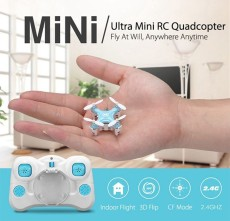 JJRC DHD D1 Supper Mini Pocket Drone 2.4G Smallest RC Helicopter Headless Mode 6-axis Gyro RC Quadcopter
