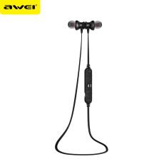 Awei A980BL Wireless Bluetooth Earphones Sweatproof Magnetic Headset With Microphone Hands Free Earphone