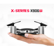 MJX X906T X-XERIEX 5.8G FPV With HD Camera Built In 2.31 Inches LCD Screen 3D Flips Wind Resistance RC Quadcopter RTF
