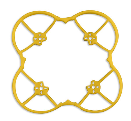 KINGKONG Propeller Protect Guard Props Protector for 90GT RC Drone Quadcopter Yellow