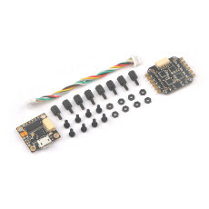 Teeny1S F4 Flight Controller Board OSD + 1S 4 in1 BlheliS ESC for DIY Mini RC Racer Drone FPV