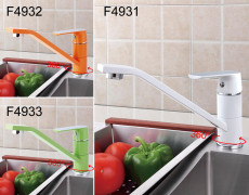 Frap Fashion Style Multi-color Kitchen Faucet Cold and Hot Water Taps 360 Degree Rotation Faucets F4931/F4932/F4933