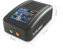 SKYRC E430 Charger 2-4 cells 1A/ 2A/ 3A 200mA Lipo Charger 100-240v AC Balance charger