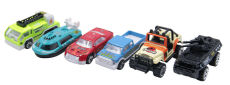 6pcs/set 1:64 Alloy Car Children's Baby Kid Toy Sports Car Christmas Gift