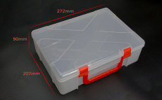 Plastic Carring Case Portable Box For KINGKONG ET100 ET115 ET125 FPV Racer