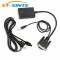 VGA to HDMI Adapter Converter 1080P HD Plug with Audio VGA2HDMI AV To HDTV Video Cable Adapter for PC Laptop to Monitor TV