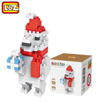 LOZ Santa Claus Small Building Blocks Assembled Puzzle Children's Toys Christmas Gift
