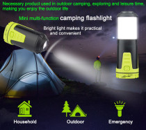 JAKEMY Portable Camping Lantern Hiking Torch Lantern Tent Light Tool JM-PJ7004 for Hiking Camping Emergencie Hurricanes Outdoor