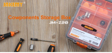 Jakemy Z20 Multi-Purpose Plastic PP Transparent Components Storage Box for Tools Case Parts Toolbox Repair JM-Z20
