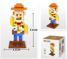 LOZ Mini Cute Diamond Building Block Toys DIY Cartoon Model Small Action Figure Bricks Toy Birthday Christmas Gift for Children