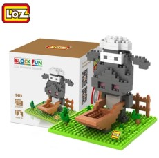 LOZ Diamond Building Blocks Toys Action Figure Cute Mini Sheep Dog 3D Bricks Gift Toy Assembled Block Set For kids Boys Girls