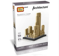 LOZ World Famous Architecture Paris France the Eiffel Tower Mini 3D Model Building Blocks DIY Assembly Bricks Toys for Children