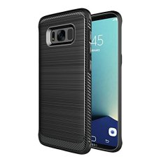 QWinOut Samsung S8 Plus Case, Full-Body Protection for Samsung S8 Plus Silicone Shockproof Protection Flexible Soft Gel TPU