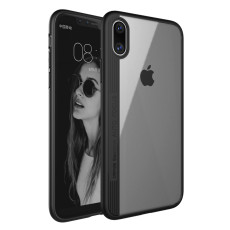 QWinOut iPhone X Case, Full-Body Protection for iPhone X ,Soft TPU+PC Protection Screen Shockproof Case (