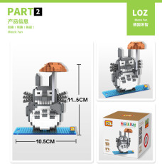 LOZ Small ABS Particles Building Blocks DIY Assemble Educational Toy 9509