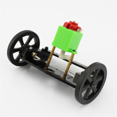 JMT ZX1 Turn to Front Axle DIY Kit Model Car Steering System Small Trolley 130 DC Motor Drive Gear 9.5*6.5*5.7cm