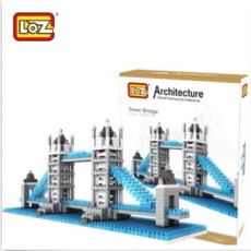 LOZ Building Blocks Tower Bridge Educational Toys Gift for Children Kids 9371