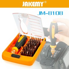 JAKEMY 38 in 1 Screwdriver Set Householder Precision Electronic Repairing Tools Magnetic Screwdriver Kit iPhone Laptop Tablet