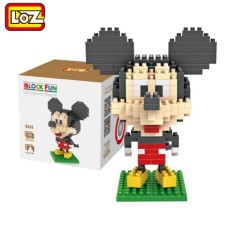 LOZ Mini Building Blocks Toys Anime Cute Mouse Duck Dog Types Assembly Educational Toys Gifts for Children Girls Boys Decoration
