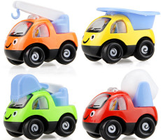 4Pcs Funny Mini Cartoon High Quality Pull Back Sand Tools Truck Vehicles Children Racing Car Model Gifts Kids Beach Playing Toys