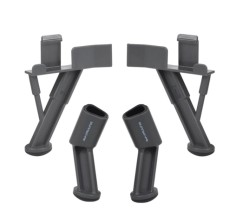 JMT Landing Gear Skid Extended Tripod Heighten 40mm Stabilizers Legs Protector Safe Mount Drone Accessories for DJI Mavic pro