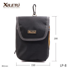 XILETU LP-8 Portable Nylon Camera Lens Filter Bags For 150 Square/Polarized/ND Lens Storage Bag Case Pouch Holder