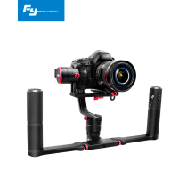 Feiyu a2000 3 Axis Gimbal DSLR Camera Stabilizer Dual Handheld Grip for Canon 5D SONY Nikon 2000g Payload
