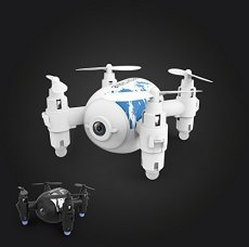 QWinOut SH10 Mini Quadcopter with Camera HD 2.4G 4CH 6-axis RTF RC Helicopter Wifi FPV Pocket Drones Toys for Boys