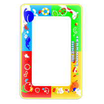 FEICHAO 45 x 29 cm 4 Color Doodle Mat with 1 Small Magic Pen / Water Drawing Mat / Water Painting Rug Learning Mat Kids Toy