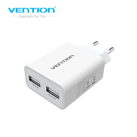 Mobile Phone Charger 5V 1A 2.4A Dual USB Charger Portable Travel Charger Adapter