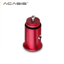 Acasis UC-U224 Dual USB Car Charger Digital LED Display 5V 4.8A Fast Charge Voltage Monitoring Charger for iPhone 6 7 Samsung S8