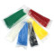 100pcs Self-locking Colored Nylon Cable Ties 4 X 200mm