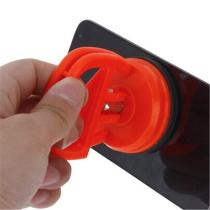 BGNing 2.28Inch Orange Suction Cup Strong Sucker Tablet Disassemble Sucker Glass Carrying Handle Lifter