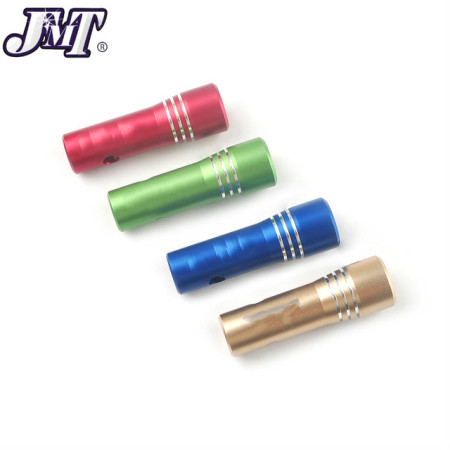 CNC Aluminum Alloy CM6 Spark Plug Sleeve 14mm Hex Removal Sleeves L60mm for RC Model Aircraft Engine GP26R EME35 EME60 DLA112