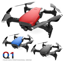 2018 New Arrival Mini Foldable Selfie Drone with Wifi FPV 2MP HD Wide Angle Camera Altitude Hold 4-axis Q1W Quadcopter Toy Gift
