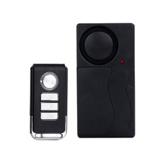 MingChuan Portable Door Vibration Burglar Alarm Home Security Magnetic Sensor 110db Anti-Theft Vibration Alarm use for Door Window Vehicles (Alarm Only)