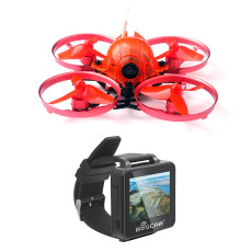 Snapper7 Brushless Whoop Racer Drone BNF with FPV Watch Micro 75mm FPV Racing Quadcopter Crazybee F3 Flight Control Flysky/Frsky RX