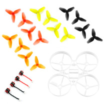 Jmt Indoor Fpv Racing Drone Quadcopter Parts 75mm Bwhoop75 Brushless Whoop Frame With 40mm Cw Ccw