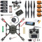 DIY GPS Drone 2.4Ghz 10CH X4 460mm Umbrella Foldable RC Quadcopter 4-Axis ARF Unassemble APM w/ Gimbal FPV Aircraft