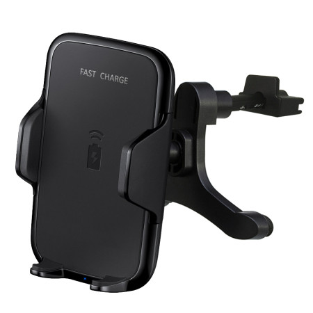 FCLUO Qi Car Wireless Fast Charger Bracket Air Outlet Bracket with Fast Charging Plug For Iphone Samsung Mobile Phone