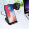 FCLUO F11 Wireless Charger Mobile Phone Watch 2 IN 1 Fast Charge For Iphone X 8 8Plus 8+ iwatch 2 3