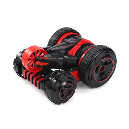 JJRC Q49 ACRO 360dgree Rotation 2.4G Remote Control Stunt Tumbling Car with Flip Cool Lights Double-sided Car Children Toy Gift