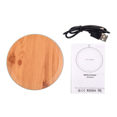 FCLUO Mobile Phone Wireless Charger 10W Compatible with 7.5W High Power Stable Low Temperature Qi Protocol Fast Charger